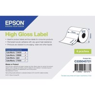 High Gloss Label - udstansede labels  76 mm x 127 mm (960 labels)