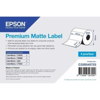 Premium Matte Label - udstansede labels  102 mm x 76 mm (1570 labels)
