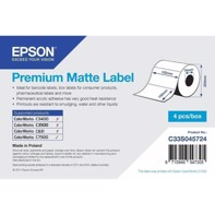 Premium Matte Label - udstansede labels  102 mm x 152 mm (800 labels)