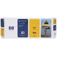 HP 81 - 680 ml Yellow blækpatron | C4933A