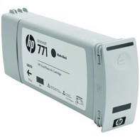 HP 771 - 775 ml Matte Black blækpatron | CE037A