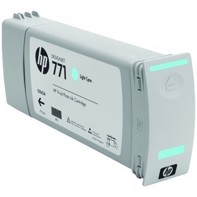 HP 771 - 775 ml Light Cyan blækpatron | CE042A