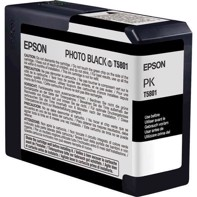 Epson Photo Black 80 ml blækpatron T5801 - Epson Pro 3800 og 3880