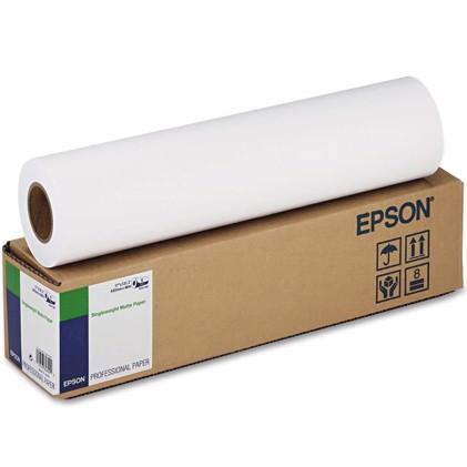 "Epson Single weight Matte Paper 120 g/m2 - 24"" x 40 m 