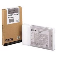Epson Light Black T6037 - 220 ml blækpatron