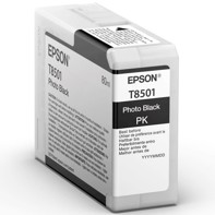 Epson Photo Black 80 ml blækpatron T8501 - Epson SureColor P800