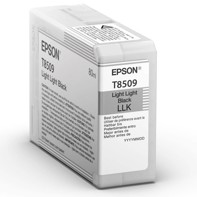 Epson Light Light Black 80 ml blækpatron T8509 - Epson SureColor P800