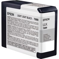 Epson Light Light Black 80 ml blækpatron T5809 - Epson Pro 3800 og 3880