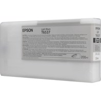 Epson Light Black T6537 - 200 ml blækpatron til Epson Pro 4900