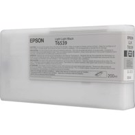 Epson Light Light Black T6539 - 200 ml blækpatron til Epson Pro 4900