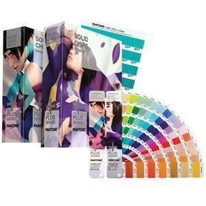 Pantone Plus Solid Color Set (Formula Guide + Solid Chips) - GP1608N