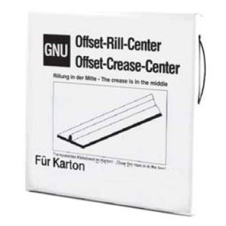 Offset-Rill, center. For karton 1,8 m