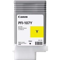 Canon Yellow PFI-107Y - 130 ml blækpatron