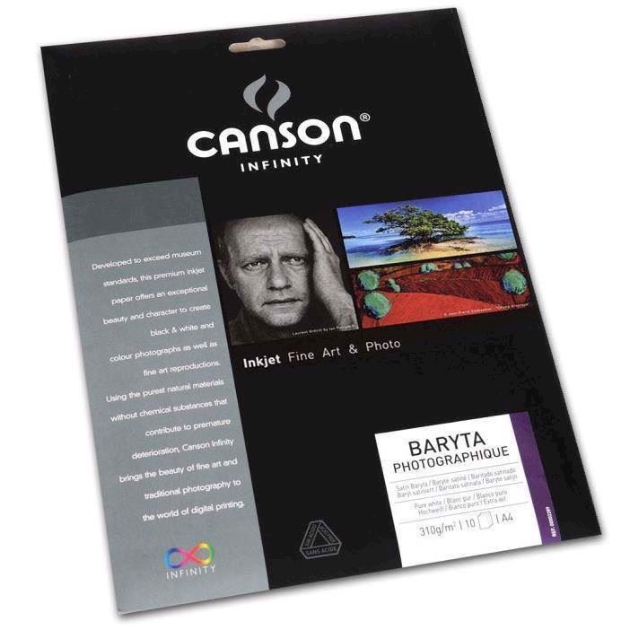 Canson Baryta Photographique 310 g/m² - A2, 25 ark