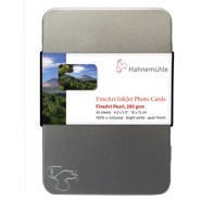Hahnemühle FineArt Pearl Photo cards 285 g/m² - 10 x 15 cm - 30 ark