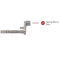 Rotary straight - Spring Return Arm