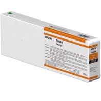 Epson Orange T804A - 700 ml blækpatron