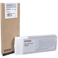 Epson Light Black 220 ml blækpatron T6067 - Epson Pro 4800/4880
