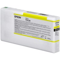 Epson Yellow T9134 - 200 ml blækpatron