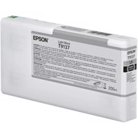 Epson Light Black T9137 - 200 ml blækpatron